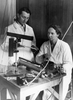 Irene and Frederic Curie