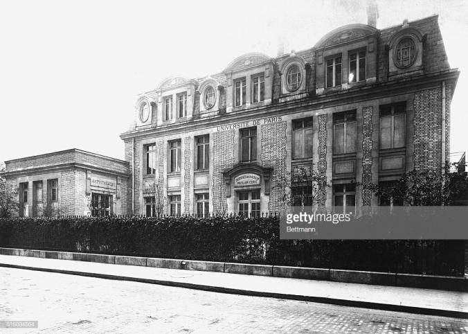 The Curie Pavilion at the Radium Institute in Paris